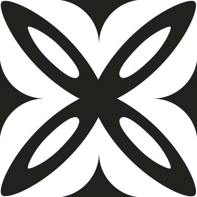carrelage-adhesif-petales-noir-et-blanc
