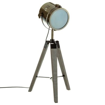 lampe-projecteur-bronze