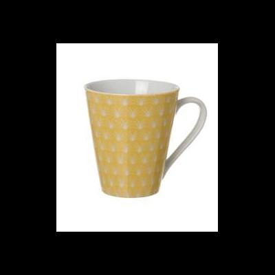mug jaune pastel