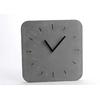 Horloge carrée béton 30x30cm