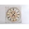 Horloge toile vintage