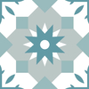carrelage-adhesif-etoile-orientale-pastel-vert-et-gris
