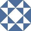 carrelage-adhesif-triangles-bleu-marine