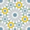 carrelage-adhesif-motif-azulejos-vert-gris-et-ocre