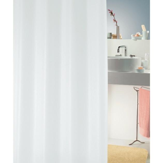 Rideau de douche romana blanc 180x180 d coration rideaux de douche au carrousel dore - Rideau de douche 180x180 ...