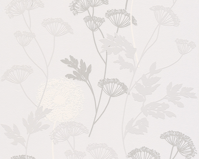 Papier peint intiss gramin e gris et blanc chambre for Papier peint raye gris et blanc
