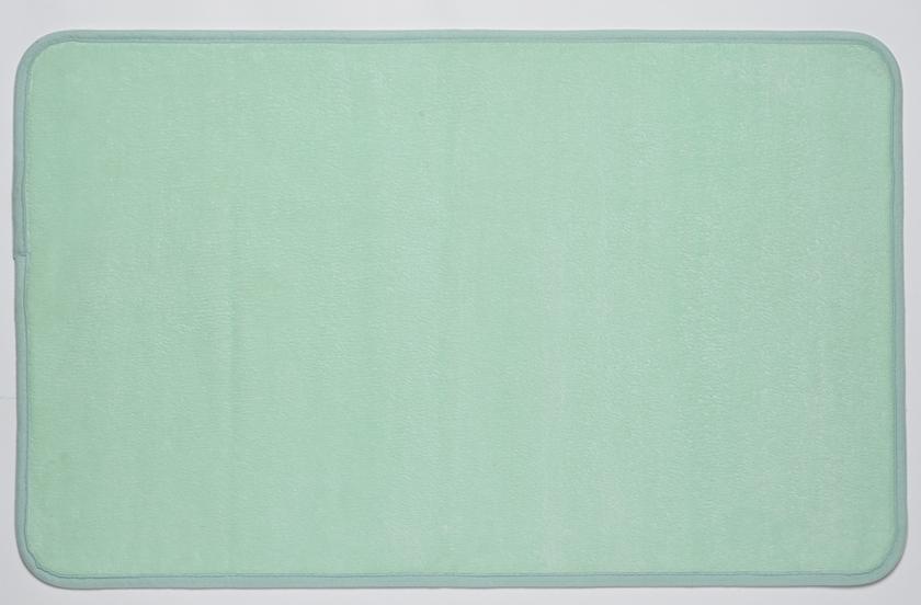tapis douceur vert mint 50x80cm d coration tapis de. Black Bedroom Furniture Sets. Home Design Ideas