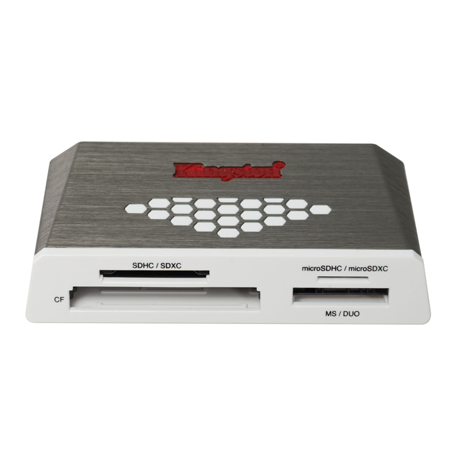 Lecteur De Carte Usb.Lecteur De Cartes Multiformats Kingston Fcr Hs4 Usb 3 0