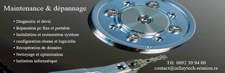 Maintenance et réparation informatique