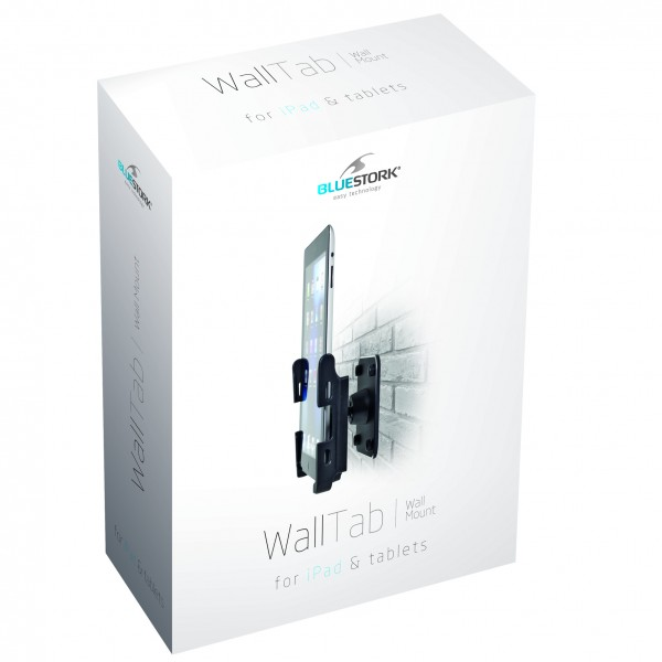 Support mural pour tablette et ipad bluestork accessoire tablette infinyt - Tablette support mural ...