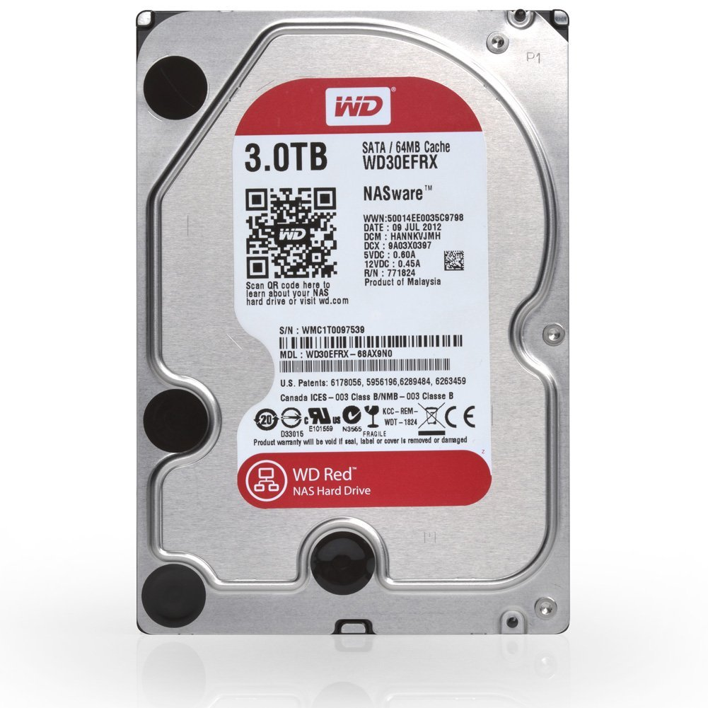 hdd 3 5 western digital red wd30efrx 3 to infinytech reunion. Black Bedroom Furniture Sets. Home Design Ideas