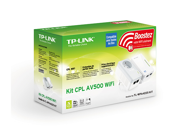cpl tp link tl wpa4225 kit wifi infinytech reunion. Black Bedroom Furniture Sets. Home Design Ideas
