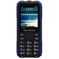 "GSM KONROW Stone Pro 2,4"" IP68 Noir/Bleu"