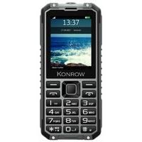 "GSM KONROW Stone Pro 2,4"" IP68 Noir/Gris"