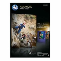 Papier photo brillant HP A4 50 feuilles