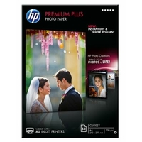 Papier photo brillant HP A4 Premium Plus 50 feuilles
