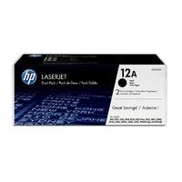 Toner HP 12A Pack de 2 Noir