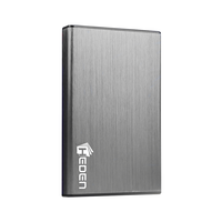 "Boitier externe HDD 2,5"" HEDEN USB 3.0 Argent"