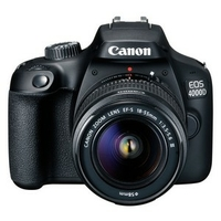 Appareil photo CANON EOS 4000D + 2 Objectifs