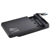 """Boîtier HDD 2,5"""" SATA BLUESTORK EasyBox USB 3.0 Noir"""
