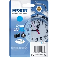 Cartouche d'encre EPSON 27XL Réveil Cyan
