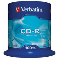 VERBATIM CD-R 700 MB pack de 100