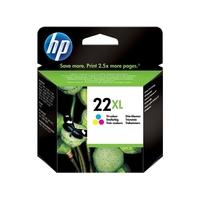 cartouche d'encre HP 22 XL trois couleurs