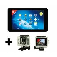 "Pack Tablette tactile TAKARA 9"" + caméra sport CS5"