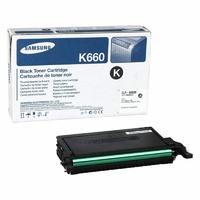 Toner SAMSUNG CLP-K660A Noir