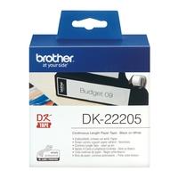 Rouleau de papier continu BROTHER DK-22205 62 mm