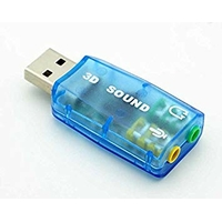 Mini carte son USB externe DUST