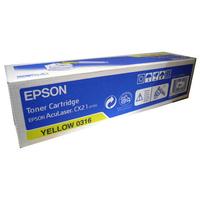 Toner EPSON C13S050316 Jaune