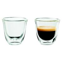 Lot de 2 tasses DELONGHI Espresso 60ml