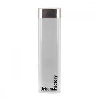 Powerbank URBAN FACTORY LipStick 2600 mAh Blanc
