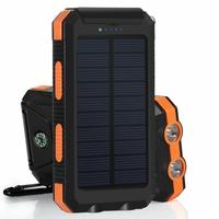 Powerbank solaire 10 000 mAh