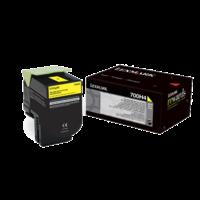 Toner LEXMARK 700H4 Yellow HC