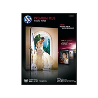 Papier photo brillant HP Premium Plus 13x18cm 20 feuilles