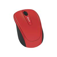 Souris MICROSOFT Mobile Mouse 3500 Sans Fil Rouge