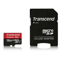 Micro SDXC TRANSCEND 128 Go 400X Classe 10