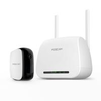 Pack caméra IP Wi-Fi int/ext FOSCAM E1 Sans Fil Full HD IP65