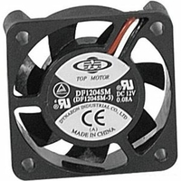 Ventilateur de boitier 12V 3 Fils - 60 x 60 x 20 mm