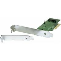 Carte PCI-E 4X DEXLAN pour 1 SSD M.2 NVMe et AHCI