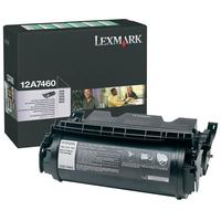 Toner LEXMARK 12A7460 Noir