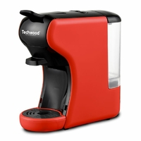 Cafetière Expresso TECHWOOD TCA-195N 1450W Rouge