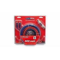 Kit câblage CALIBER CPK10D pour ampli 500W max