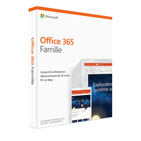 Microsoft Office 365 Personnel 1 an (Boite)