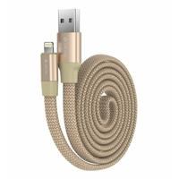 Câble DEVIA RING Y1 USB vers Lightning Doré 80cm