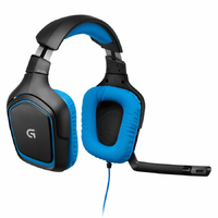 Casque micro Gaming LOGITECH G430 7.1 Surround