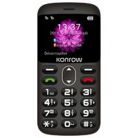 """GSM KONROW Senior 2"""" Noir"""