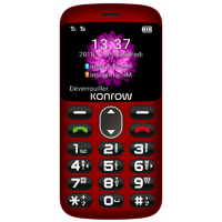"GSM KONROW Senior 2"" Rouge"